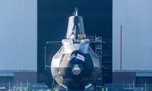 Astute-class Submarine HMS Anson Launches by BAE Systems