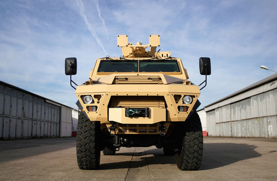 Bastion Armored Personnel Carrier