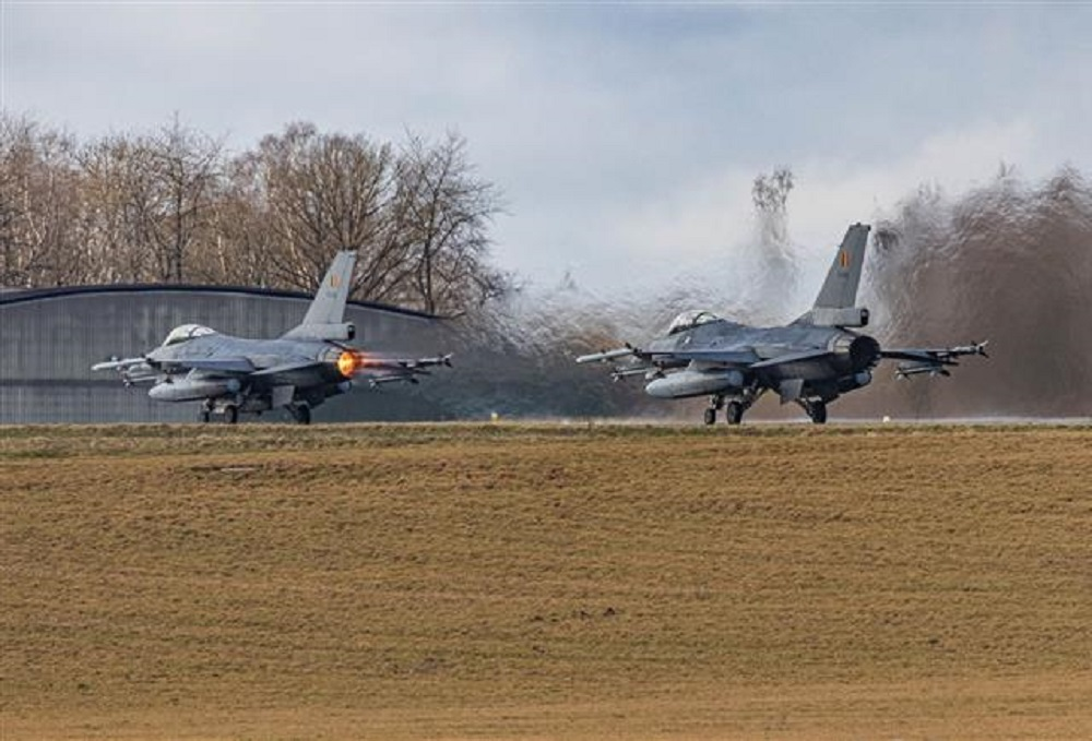 Belgian Air Component F-16 Fighters Ready for NATO Response Force