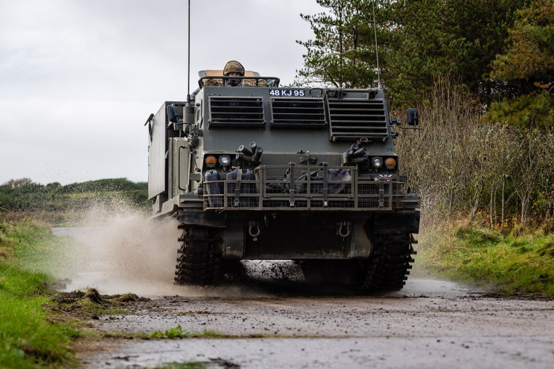British Army to Upgrade M270B1 Multiple Launch Rocket Systems (MLRS)