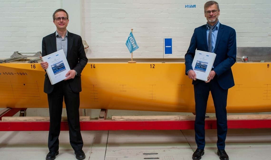Dr.-Ing. Florian Kluwe, Director/Division Manager Ships/Head of Projects, HSVA and Dirk Henneberg, Senior Program Manager Procurement F126, Damen Naval