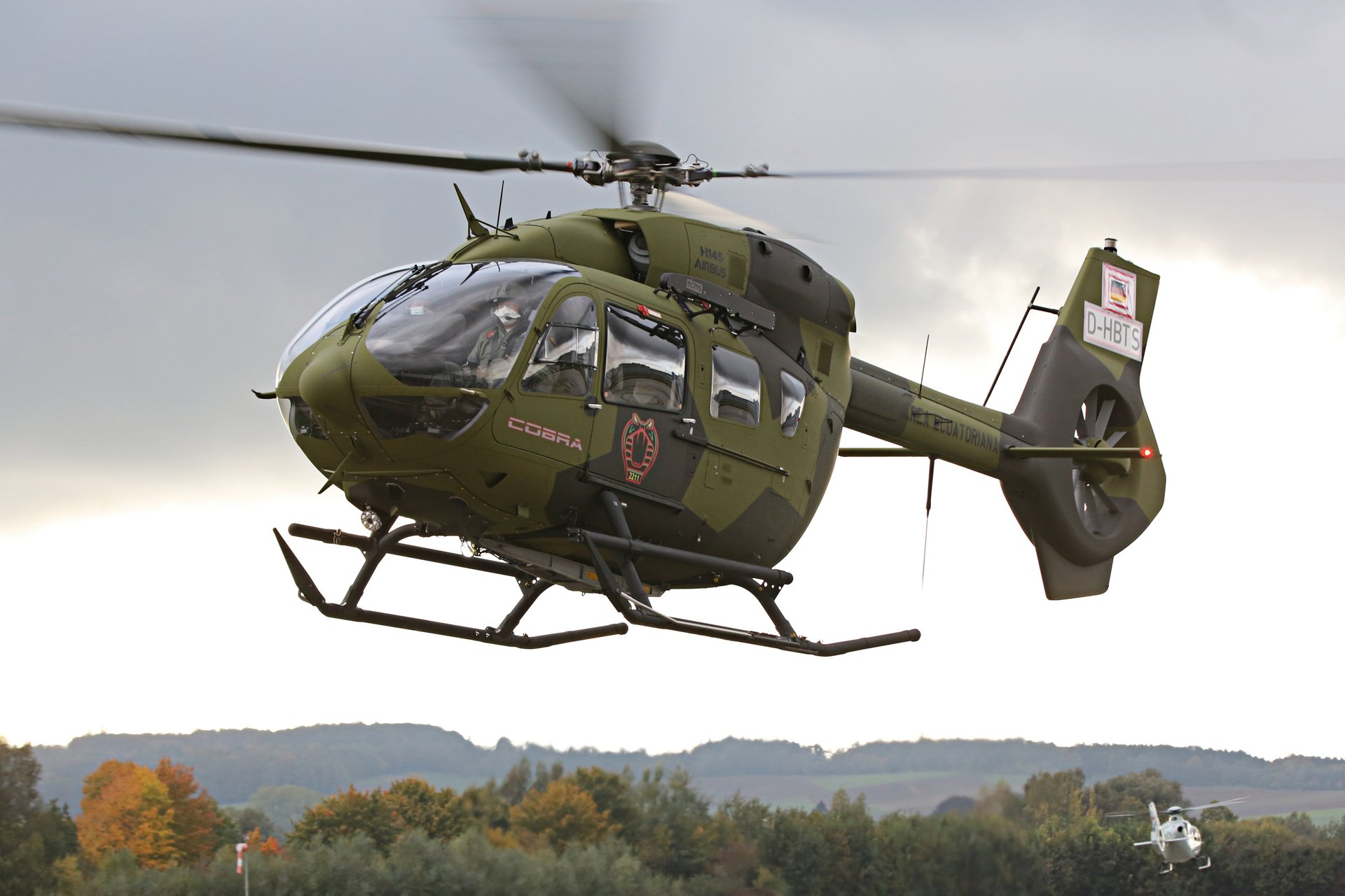 Ecuadorian Air Force Airbus H145M Light Utility Helicopter