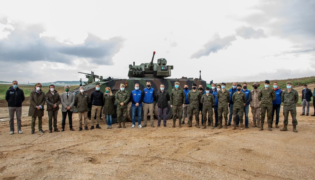 Spanish Company Escribano Mechanical and Engineering Demonstrations Vehicles to Spanish Army