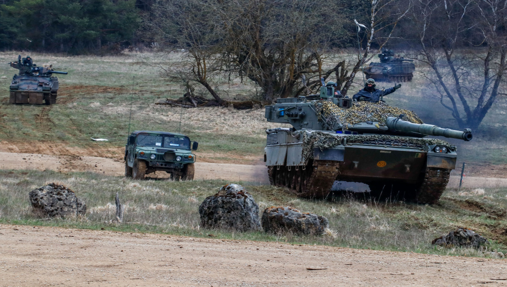 Exercise Dragoon Ready 21 Prepares US Army 2nd Cavalry Regiment