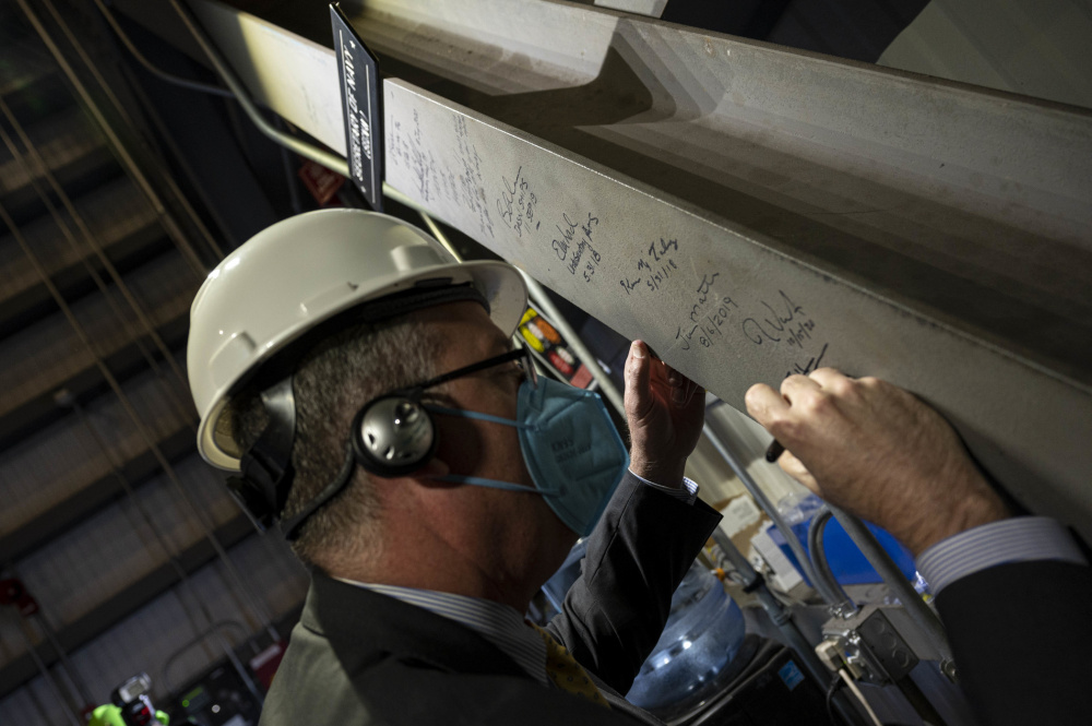 General Dynamics Bath Iron Works Lays Keel of Future USS Harvey C. Barnum, Jr.