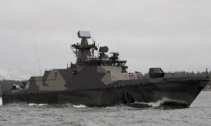 Finnish Navy Hamina-class missile boat
