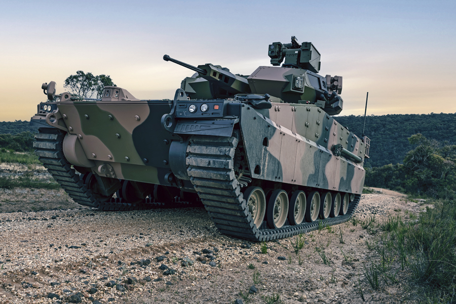 Hanwha Defense Australia AS21 Redback Infantry Fighting Vehicle