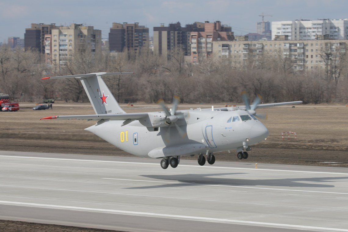 Ilyushin Il-112V Light Military Transport Aircraft