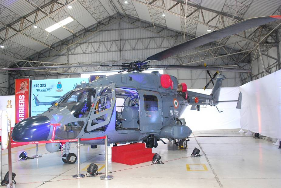 Indian Navy ALH Advanced Light Helicopter MK III