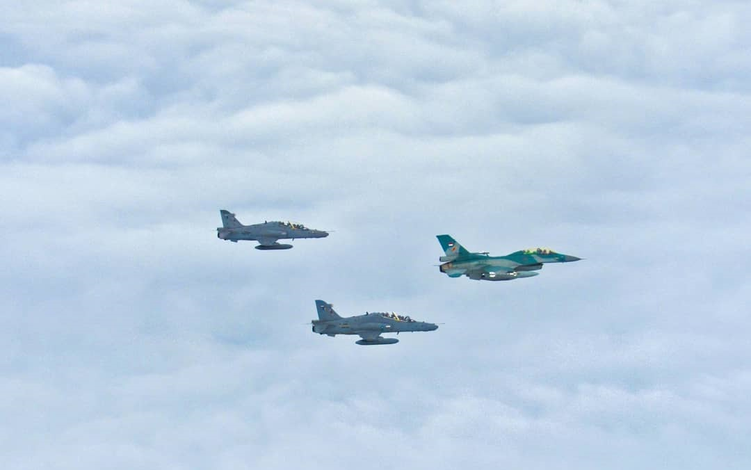 Indonesia and Malaysia Conduct Joint Air Patrol Over Malacca Strait