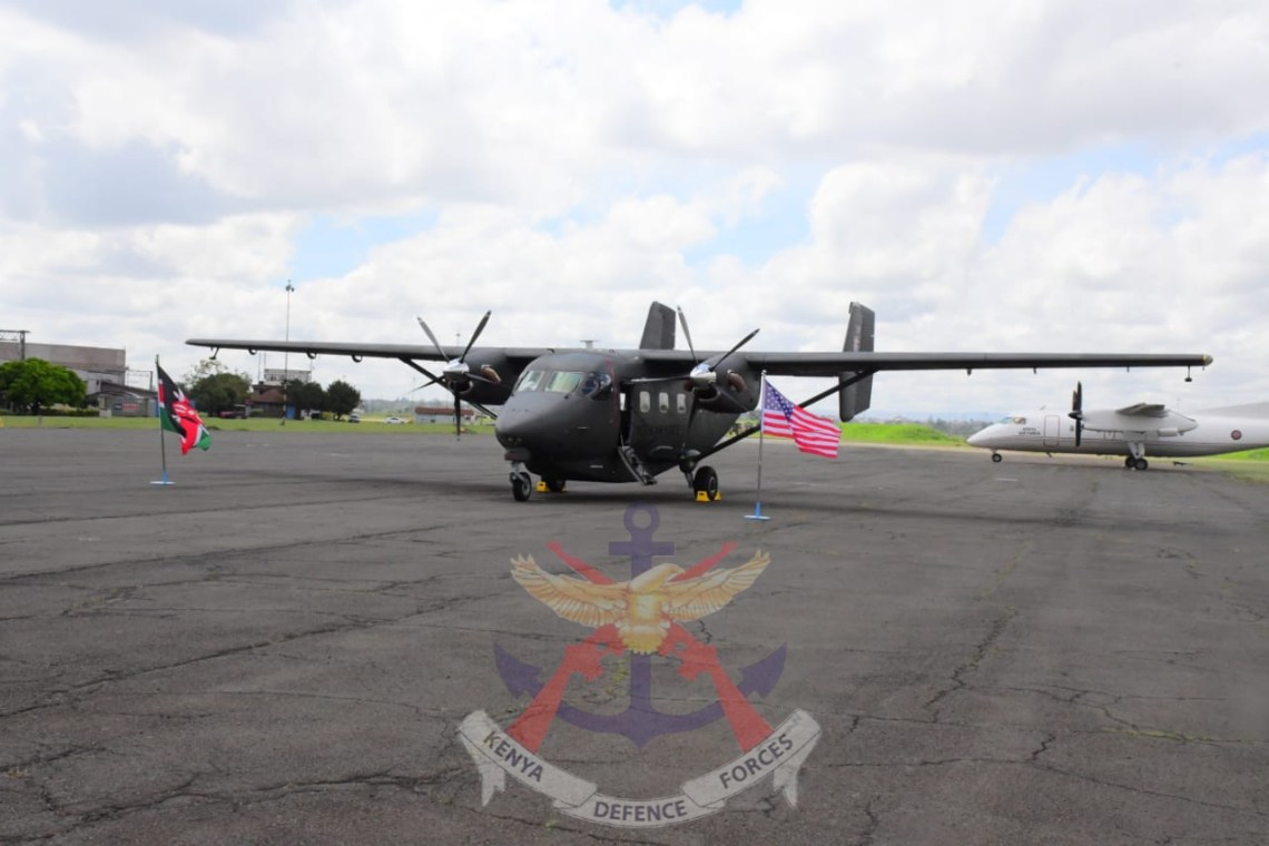 Kenya Air Force Commissions C-145 Skytruck Light Twin-Engine Aircraft