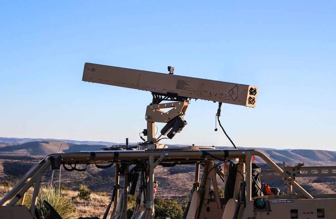 "LAND-LGR4 ""Fletcher"" Laser Guided Weapon System"