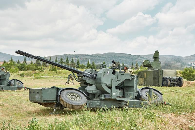 Aselsan Modernized Version of 35mm Towed Air Defense System