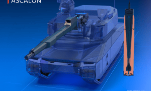 Nexter Prepares ASCALON for Future of Main Battle Tank Armament