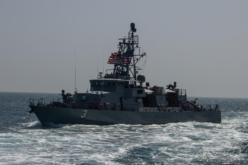 Patrol coastal ship USS Hurricane (PC 3)