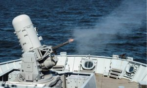 Phalanx Close-in Weapon System (CIWS)
