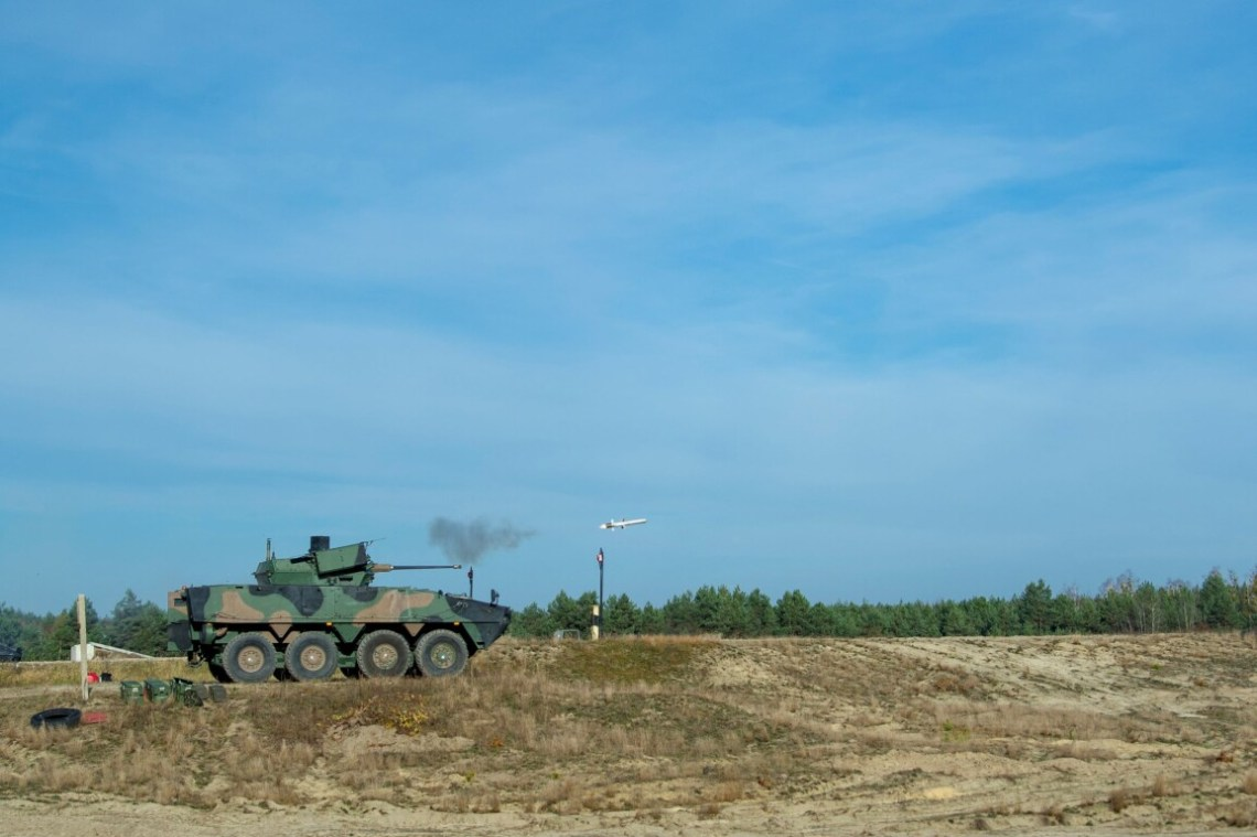 Polish Company HSW Unveils Its Turret RCTS-30 with Spike Anti-tank Guided Missiles
