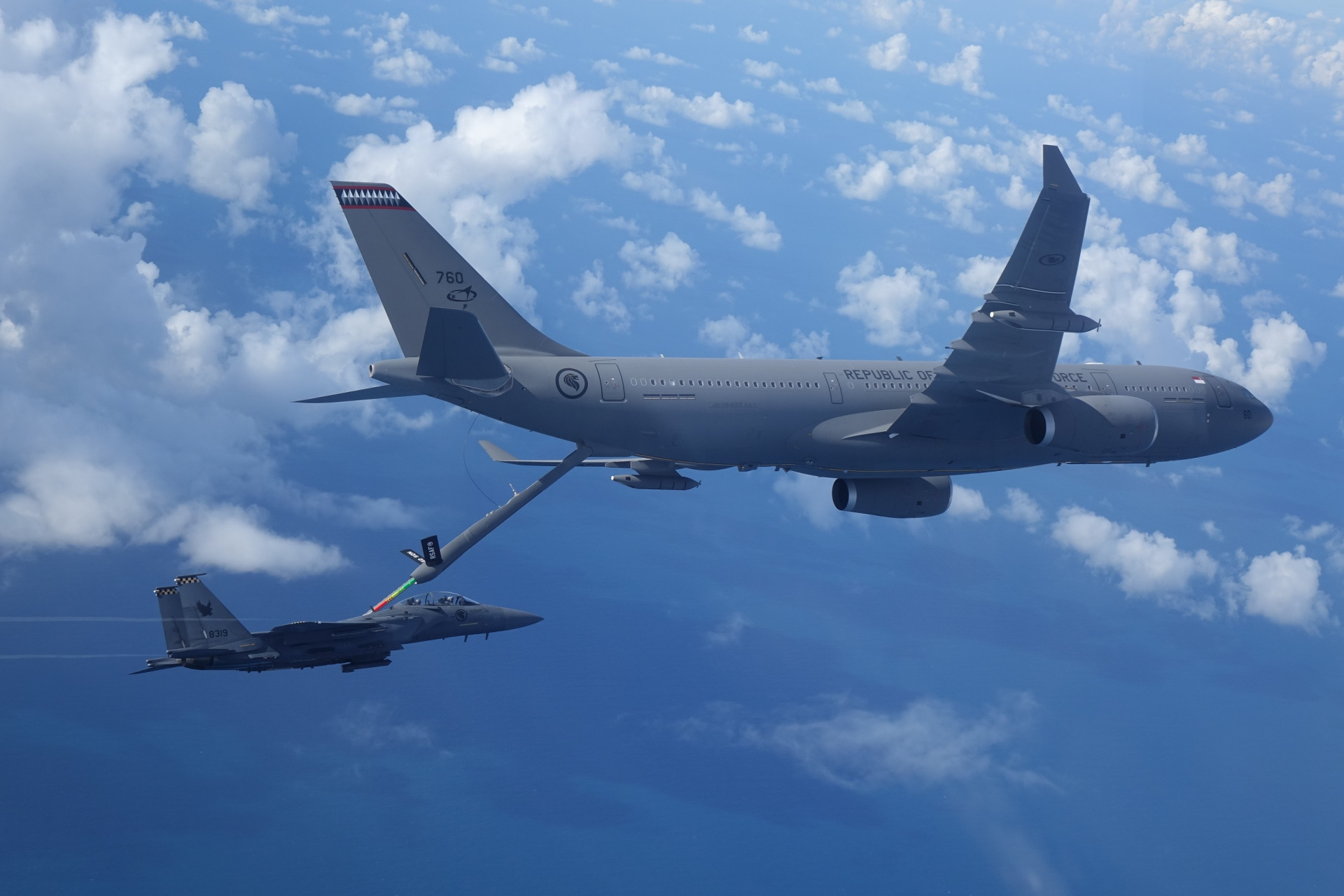 Republic of Singapore Air Force's A330 MRTT Tanker Aircraft Attains Full Operational Capability