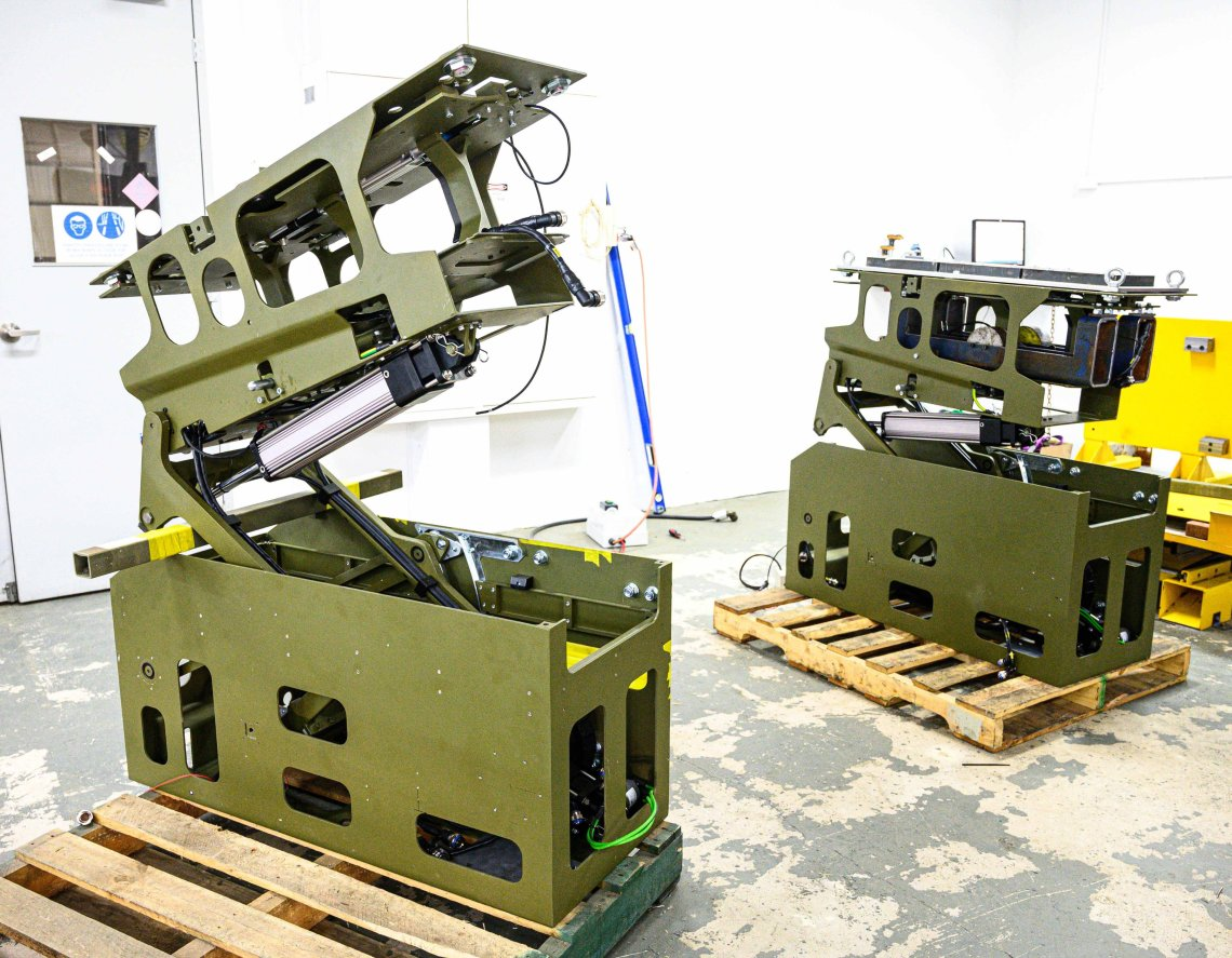 Supashock Awarded Contract to Provide Retractable Anti-tank Missile Platform for Australian Army Boxer