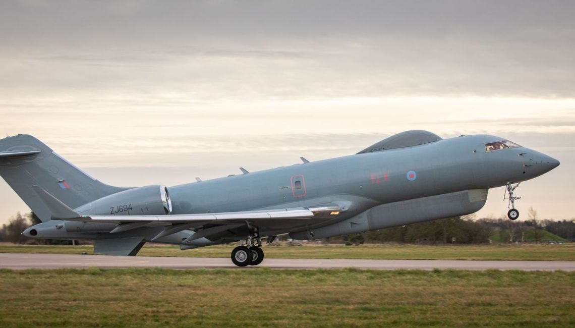 The Sentinel R1 aircraft of V (Army Cooperation) Squadron have flown circa 32,300 hours conducting approximately 4,870 sorties during its service life.