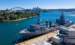 Royal Australian Navy Commissions HMAS Supply Auxiliary Oiler Replenishment Ship