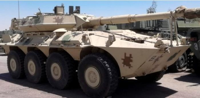 Royal Jordanian Army B1 Centauro 8x8 105mm Tank Destroyer