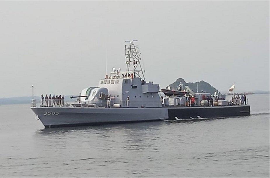 Royal Malaysian Navy Completes Modernization of KD Jerong Fast Attack Craft