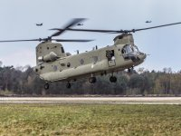 Royal Netherlands Air Force Received Its First Boeing CH-47F Chinook Heavy-lift Helicopter