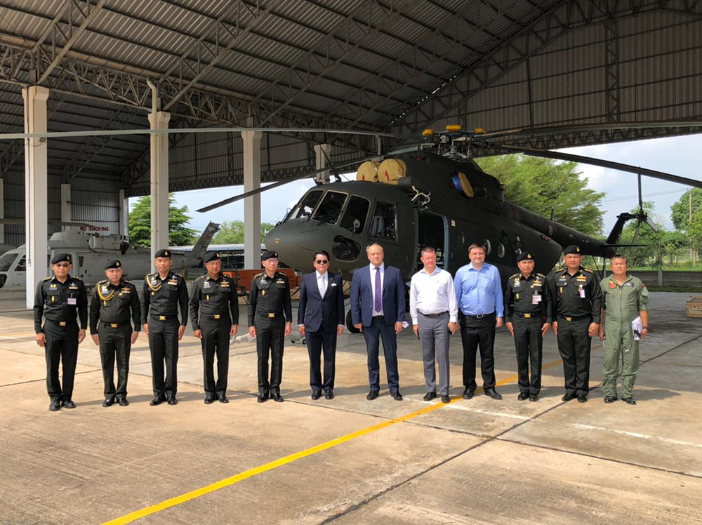 Royal Thai Army Receives 3 Mi-17V-5 Helicopters from Russian Helicopters