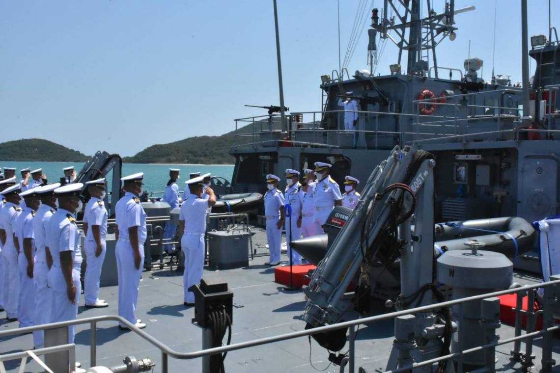 Royal Thai Navy Commissions Two New M36-class Patrol Boats
