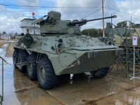 Russia Demos New DUBM Remote-Controlled Combat Module on BTR-82 APC