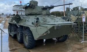 Russia Demos New DUBM Remote-Controlled Combat Module on BTR-82 APC