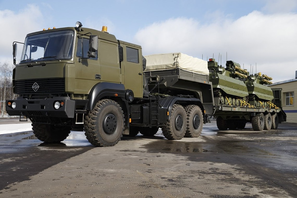 Russian Armed Forces to Receive 20 Uran-9 Unmanned Combat Ground Vehicle