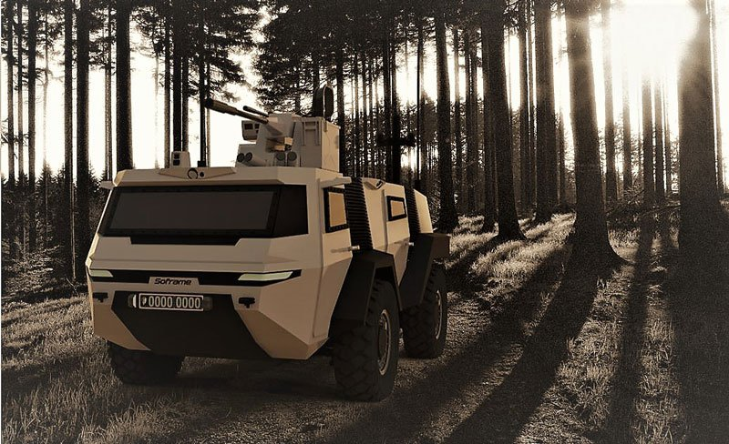 Soframe Unveils its MOSAIC Project to Replace VBL Light Armoured Vehicle
