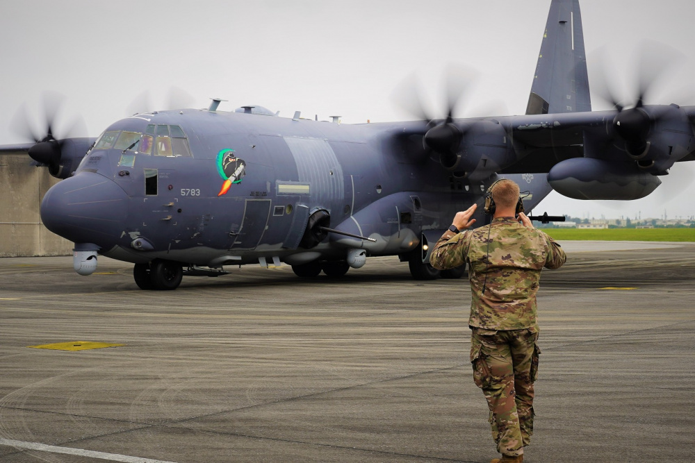 US Air Force 353rd Special Operations Group AC-130J Ghostrider