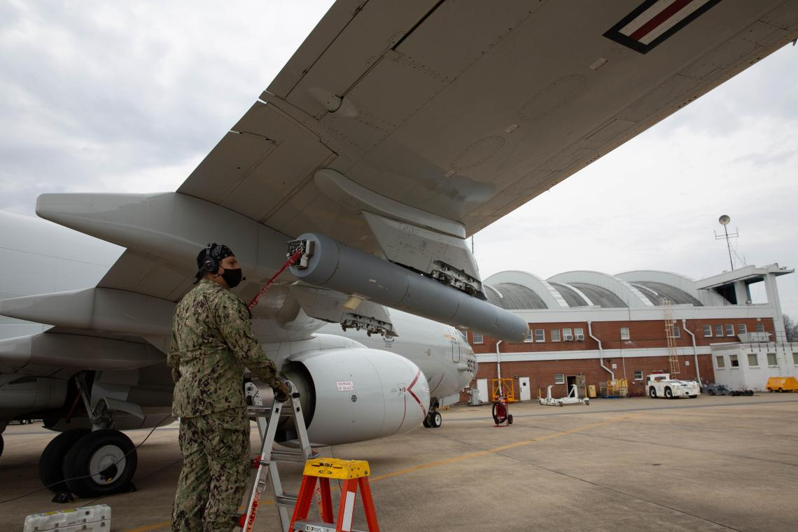 US Navy Air Test and Evaluation Squadron (VX) 20 Effort Brings P-8A Decoy Prototype to Test
