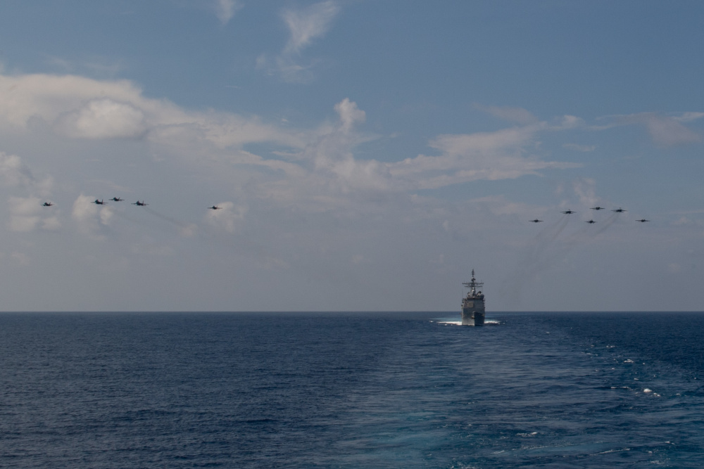 US Navy Theodore Roosevelt CSG Conducts Bilateral Exercise with Royal Malaysian Air Force
