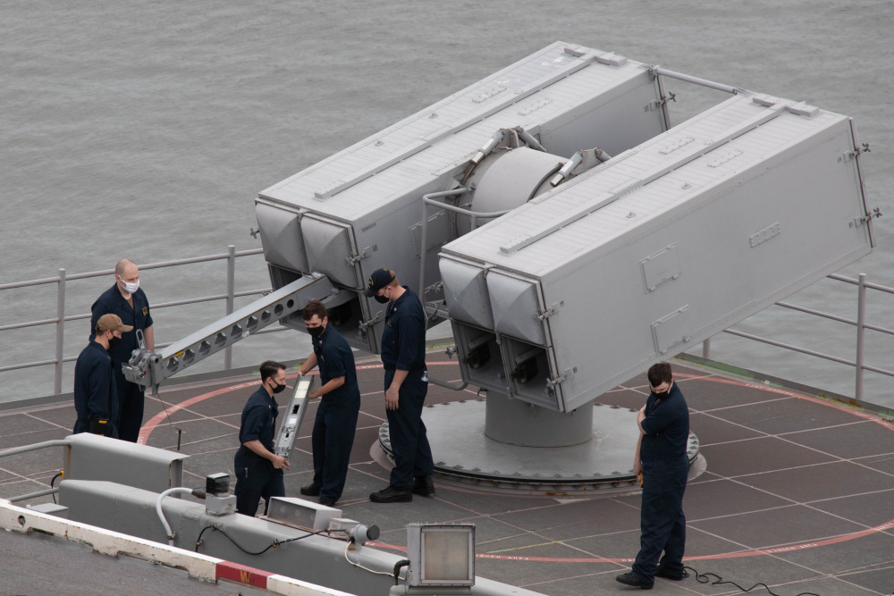 US Navy USS Gerald R. Ford (CVN-78) Successfully Completes Combat Systems Ship's Qualification Trials