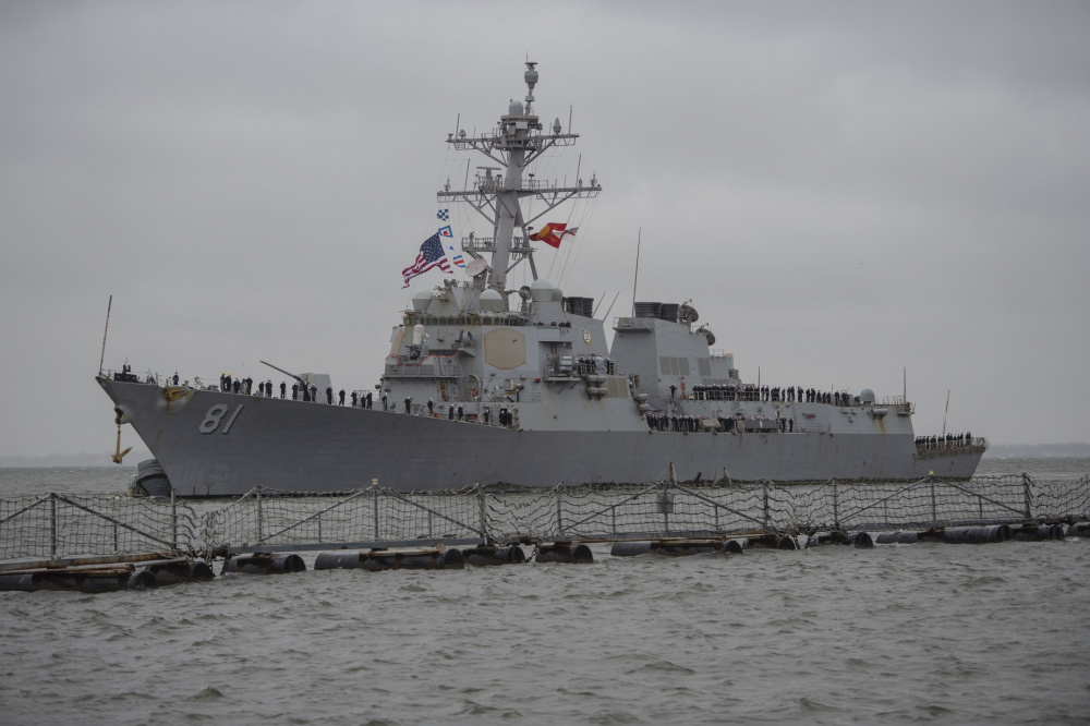 US Navy USS Winston S. Churchill (DDG 81)