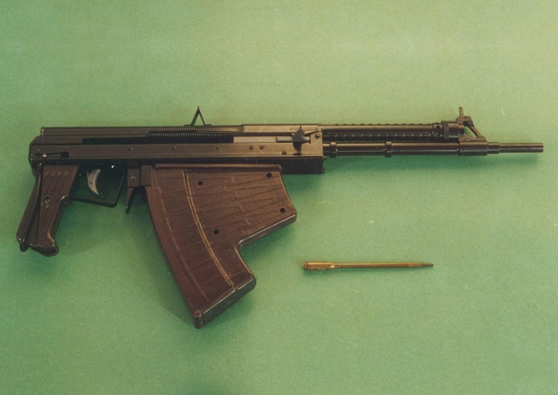 5.66 mm APS underwater assault rifles