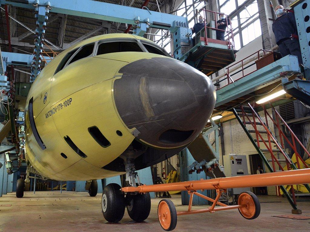 Antonov Company An-178-100P Military Transport Aircraft