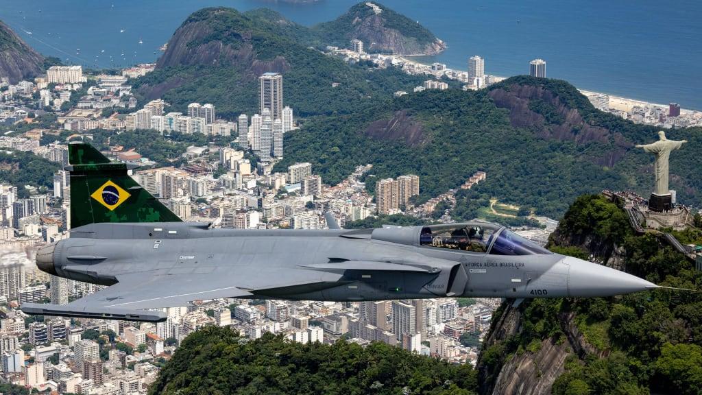 Brazilian Air Force F-39E Gripen