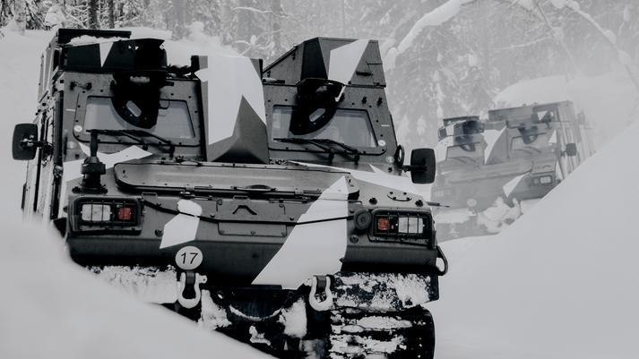 BvS 10 Tracked All-terrain Vehicles