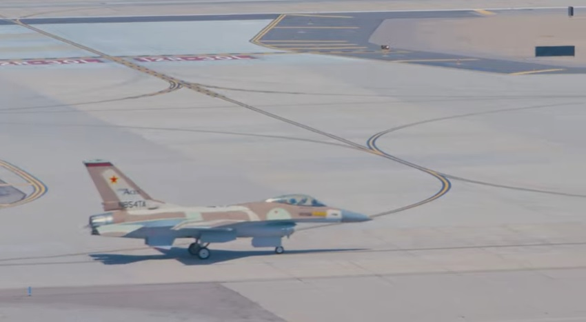 Top Aces F-16 Fighter Aircraft