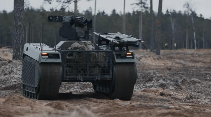 Estonian Forces Employ Milrem Robotics' THeMIS Unmanned Ground Vehicles in Live-fire Exercise