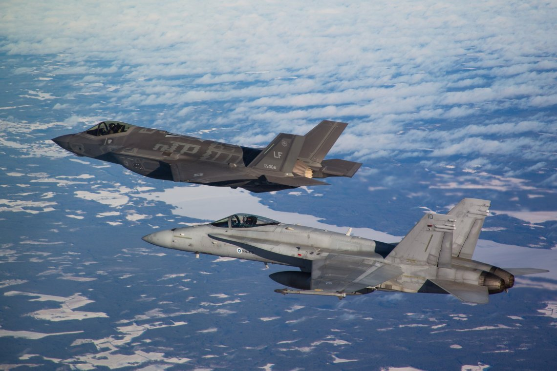Finland's HX competition was set up to replace the country's F-18 Hornets.