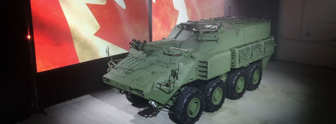 GDLS Canada Broadcasts Virtual Armoured Combat Support Vehicle (ACSV) Roll-out Ceremony
