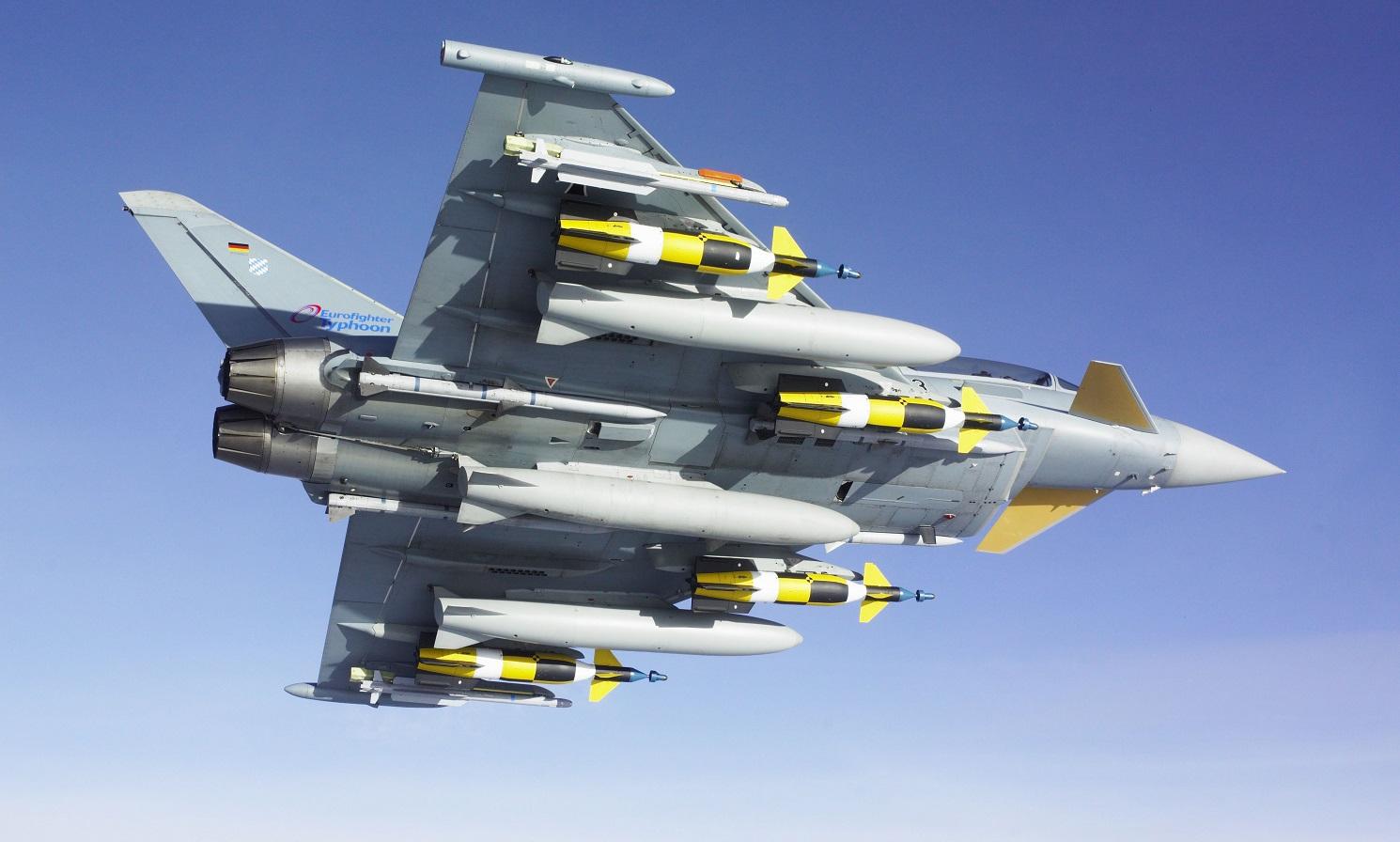 German Air Force Quadriga Tranche 4 Eurofighter Typhoon