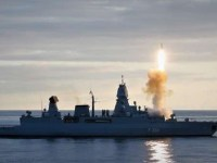 German Navy Frigate Hamburg Tests RIM-162 ESSM Surface-to-air Missiles Outside Northern Norway