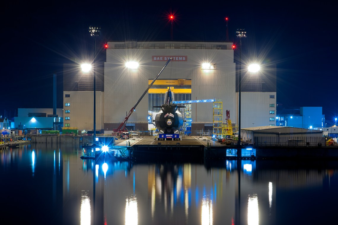 HMS Anson (S123) Submarine Enters Final Stage of Construction and Commissioning